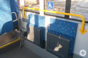 Platz Rollstuhlfahrer